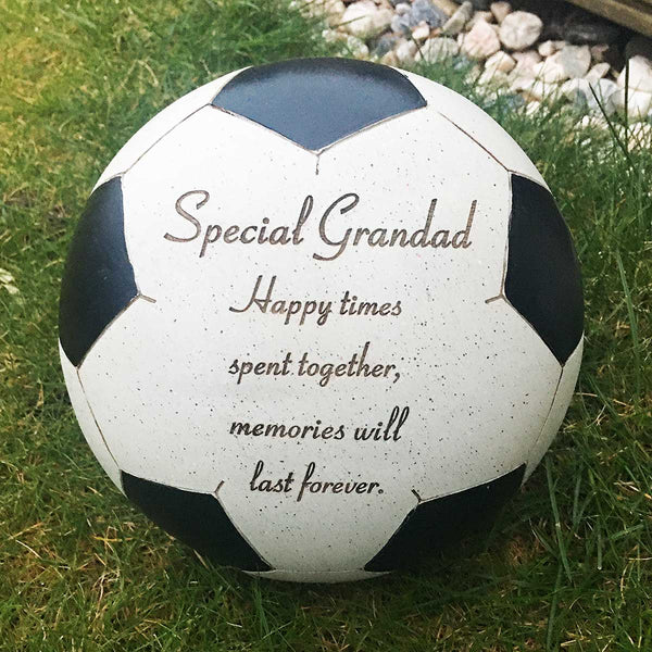 Football Outdoor Memorial - Special Grandad