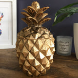 Golden Pineapple Keepsake Jar