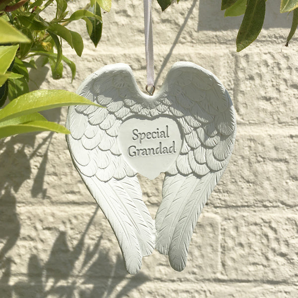 Special Grandad Hanging Angel Wings
