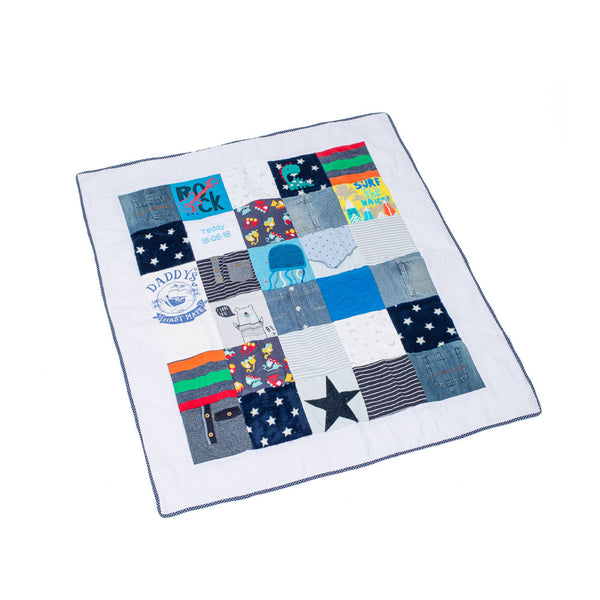 Your Clothes Luxury Keepsake Quilt