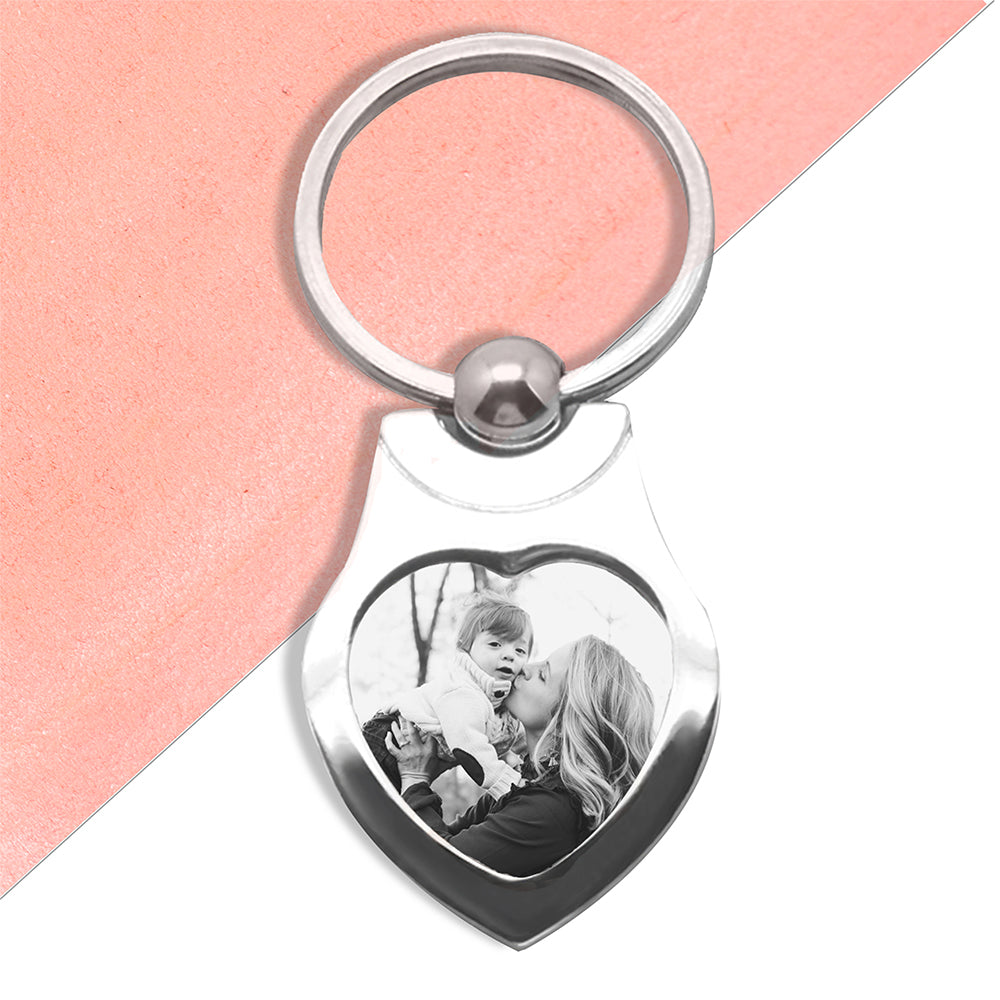 Printed On Photo Keyring - Any Message/Occasion