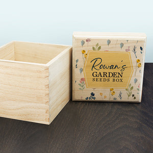 You added Personalised Botanical Seeds Box to your cart.