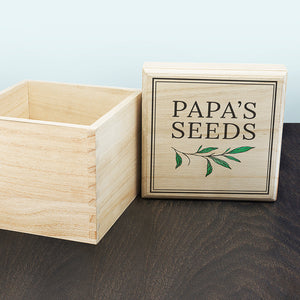 You added Personalised Gardening Seeds Box to your cart.