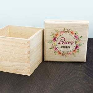 You added Personalised Flower Wreath Seeds Box to your cart.