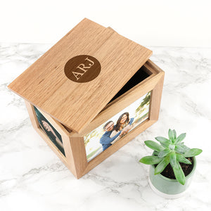You added Oak Photo Keepsake Box with Initials in a Heart/Diamond/Circle to your cart.