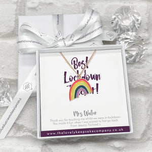You added Rainbow Necklace Personalised Thank You Lockdown Teacher Gift Box to your cart.