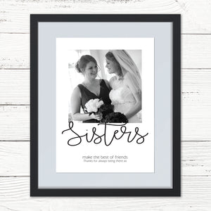 You added Sibling/Friend Personalised Photo Print to your cart.