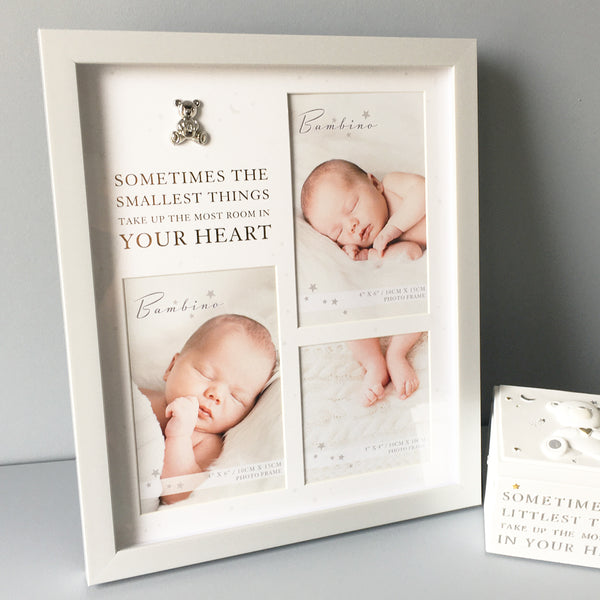 "Bambino ""Smallest Things"" Baby Photo Frame"