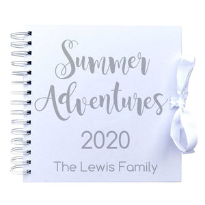 You added Personalised 'Summer Adventures' Scrapbook (Kraft, Black, White) to your cart.