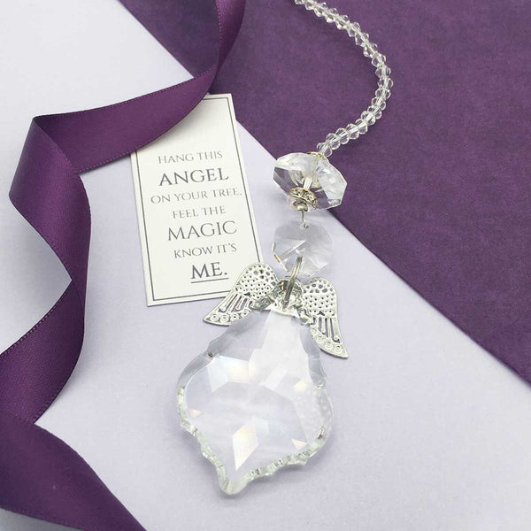 Angel Memorial Sun Catcher