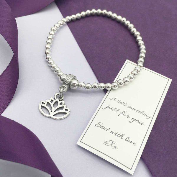 Lotus Flower Mindfulness Bracelet