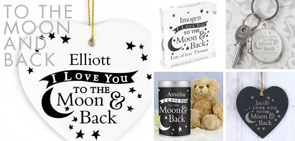 To the Moon and Back gifts