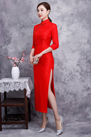 Nitya Cheongsam (More Colors) (Non-Returnable)