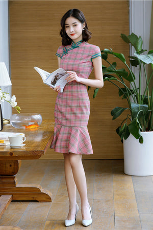 Natasha Cheongsam (More Colors) (Non-Returnable)