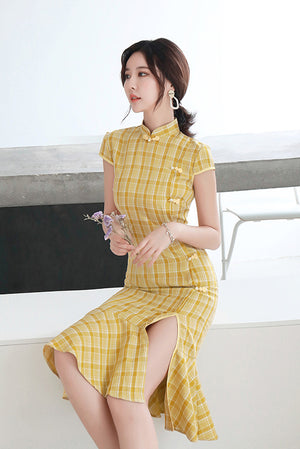 Eirlys Cheongsam (More colors) (Non-Returnable)