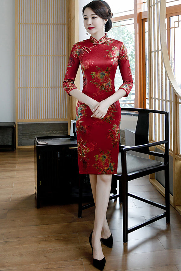 Valeriya Cheongsam (More Colors)