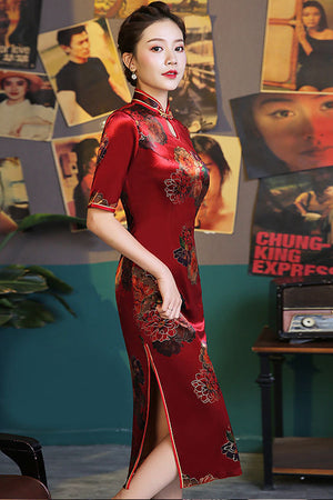 Marie Cheongsam (More Color) (Non-Returnable)