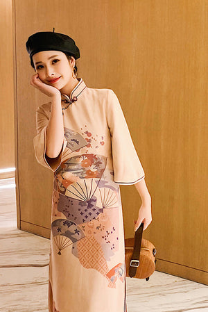 Lianne Cheongsam (More Colors) (Non-Returnable)