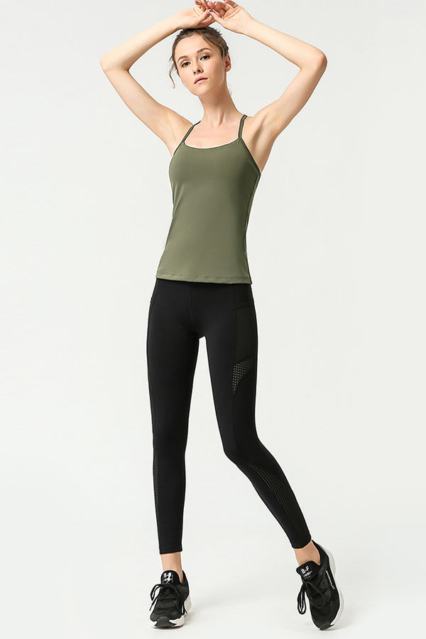 Carly Gym Top (More Colors)