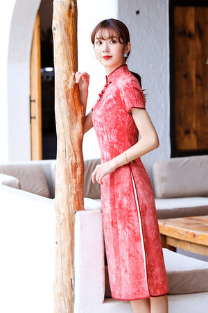 Rivqah Cheongsam (More Colors) (Non-Returnable)