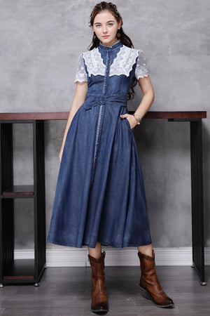 Yuko Dress (Premium) (Non-Returnable)