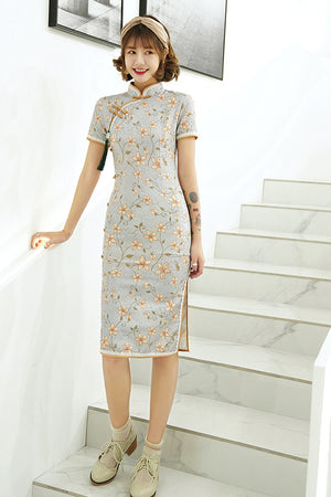 Michelle Cheongsam (Non-Returnable)