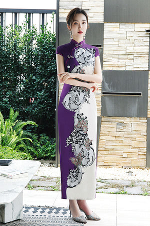 Poppy Cheongsam (More Colors) (Non-Returnable)
