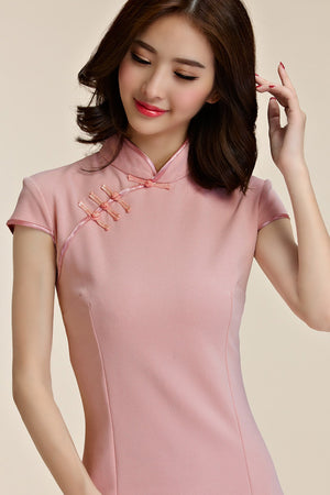 Gretchen Cheongsam (More Colors) (Non-Returnable)
