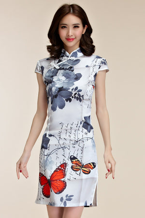 Leona Cheongsam (Non-Returnable)