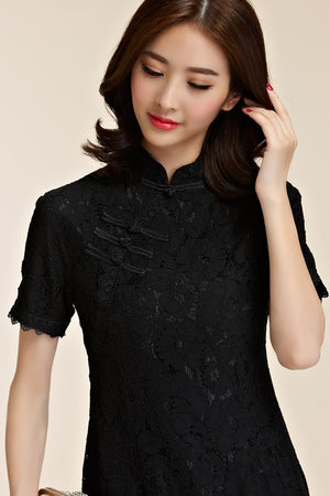 Vasquez Cheongsam (More Colors) (Non-Returnable)