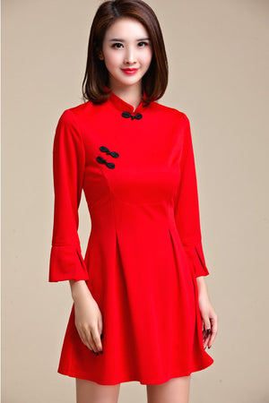 Arati Cheongsam (More Colors) (Non-Returnable)