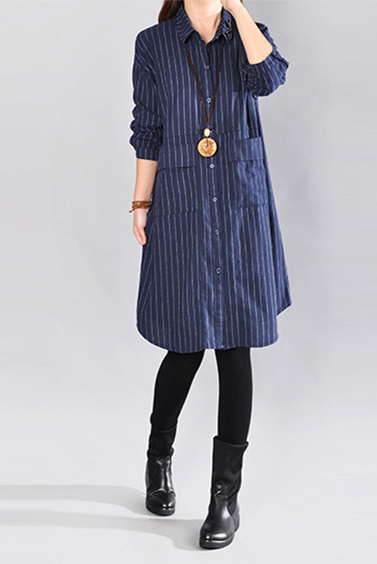 Anastasiya Shirt Dress