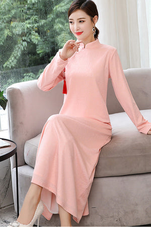Alline Cheongsam (Non-Returnable)