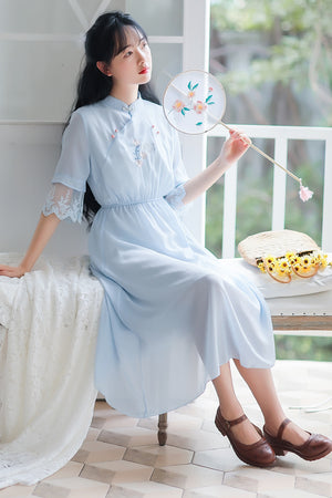 Bates Cheongsam (More Colors) (Non-Returnable)