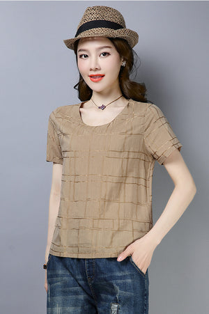 Gena Top (More Colors)(Non-Returnable)