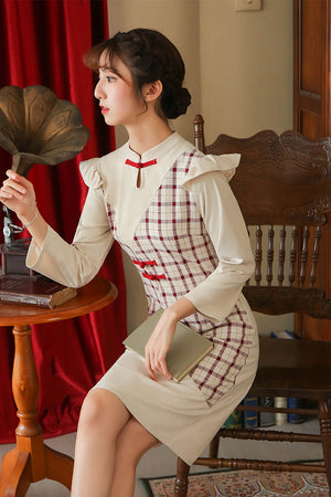 Marisol Cheongsam (More Colors) (Non-Returnable)