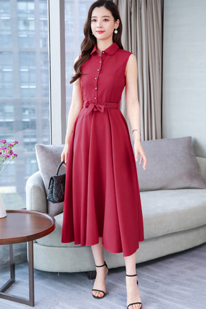 Leonia Dress (More Colors) (Non-Returnable)