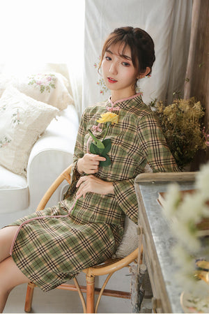 Florence Cheongsam (More Colors) (Non-Returnable)