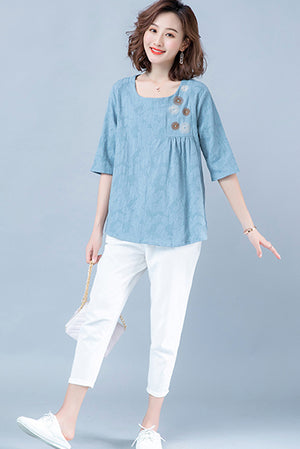 Bronwen Top (More Colors) (Non-Returnable)