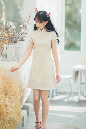 Laney Cheongsam (More Colors) (Non-Returnable)