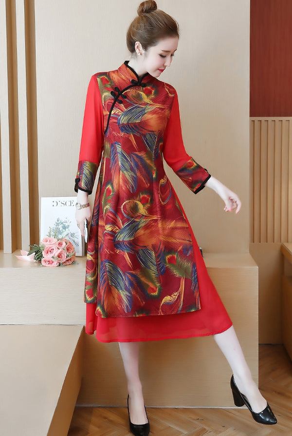 Paulette Cheongsam (More Colors)