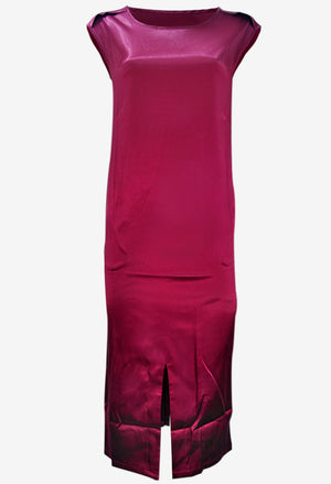 Kyleigh Maroon Dress (Non-Returnable)