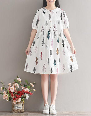 Minnie Printed Dress (Non-Returnable)