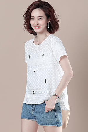 Israa Top (More Colors) (Non-Returnable)