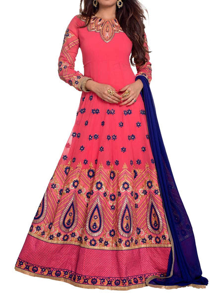 Pink Colored Georgette Suit - ST-PKAS5MH2
