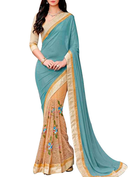 Saree From West Bengal In Light Green - PWBSAI19JN90