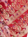 Banarasi Saree In Faux Red - RB-BPBUSA11JL47