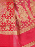Banarasi Saree In Magenta - RB-BPBUSA11JL353