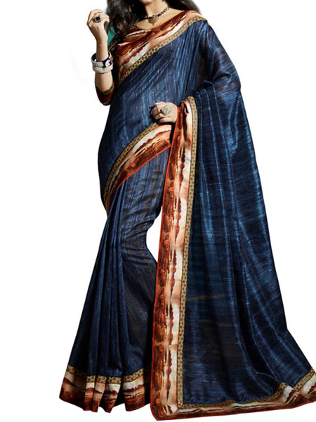 Saree From West Bengal In Multicolour - PWBSAI19JN35