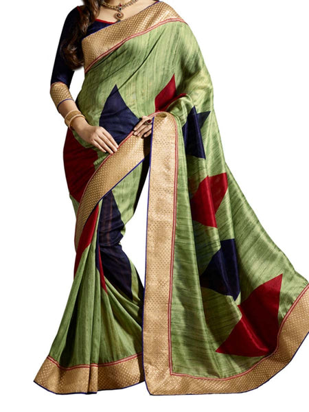 Saree From West Bengal In Multicolour - PWBSAI19JN39
